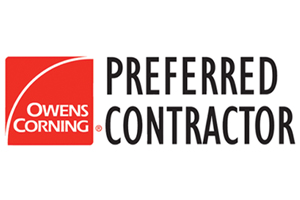 Owens Corning Preferred Contractor roofing